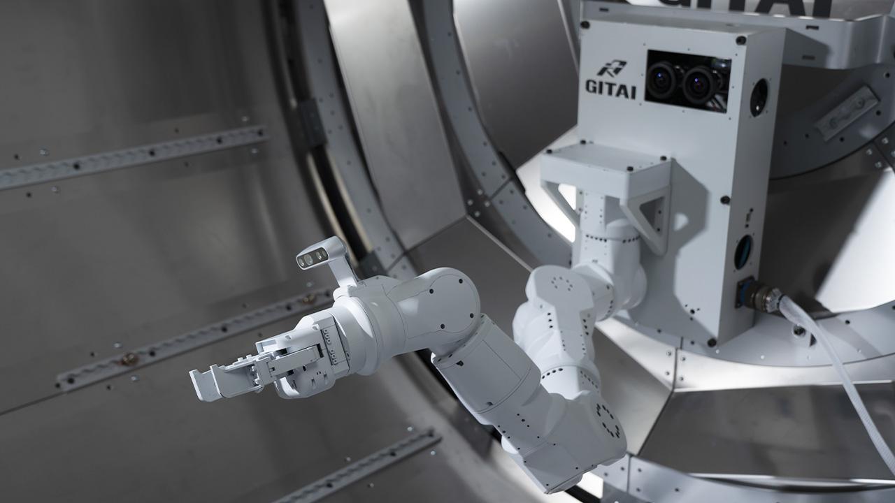 The GITAI robotic arm. Credit: GITAI