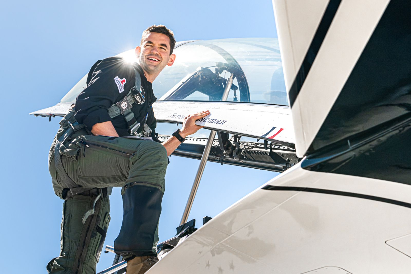 Jared Isaacman, a billionaire entrepreneur and avid pilot, bought a SpaceX Crew Dragon and put together the Inspiration4 mission, the first all-private civilian trip into space. Credit: Inspiration4 / John Kraus