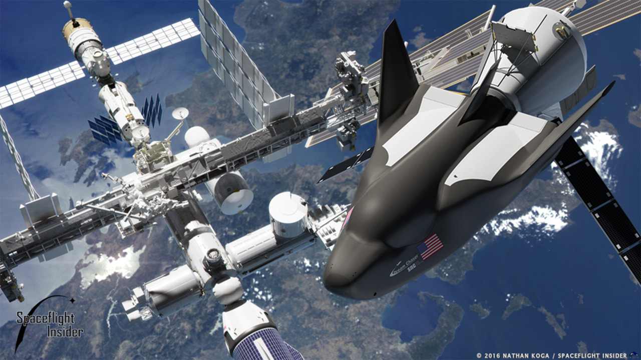 Dream Chaser Artist's Rendering